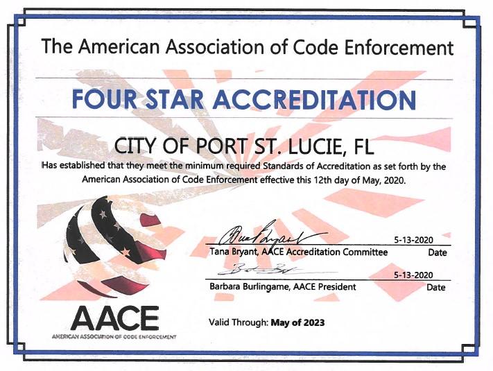aace certificate