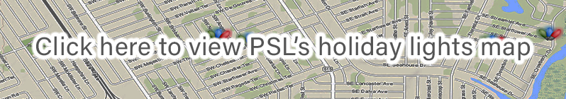 Click here to view PSL's holiday lights map