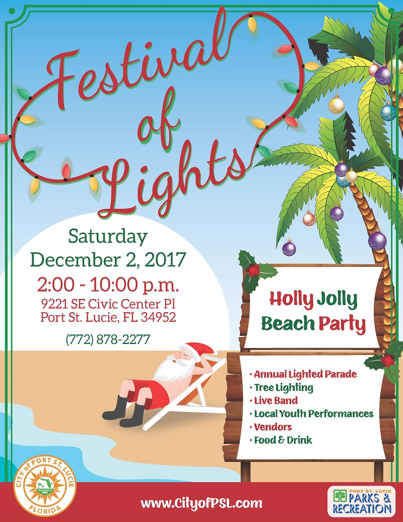 Flyer Festival of Lights 2017