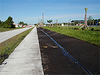 Swale Liner Installation