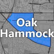 Oak Hammock becomes fourth neighborhood community named through the NICE Program