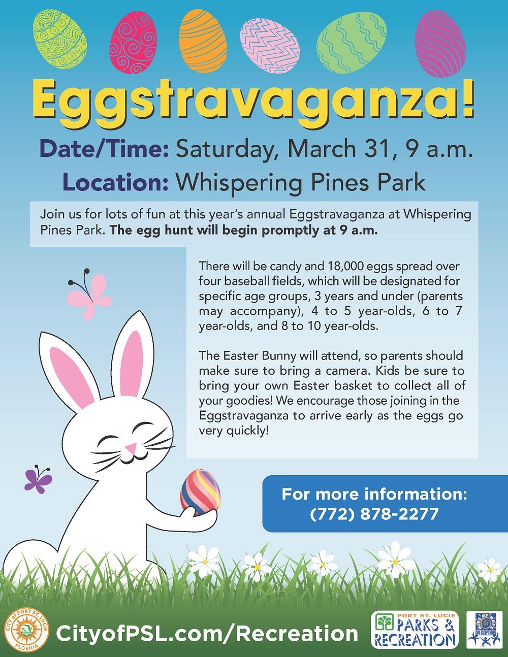 Eggstravaganza | Calendar Meeting List | Port St. Lucie