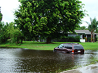 Residential Area Flooding