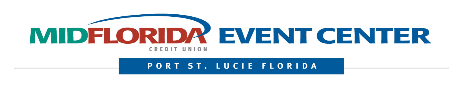 MIDFLORIDA Event Center PSL logo horizontal