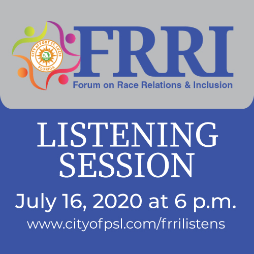 FRRI Listening Session Event