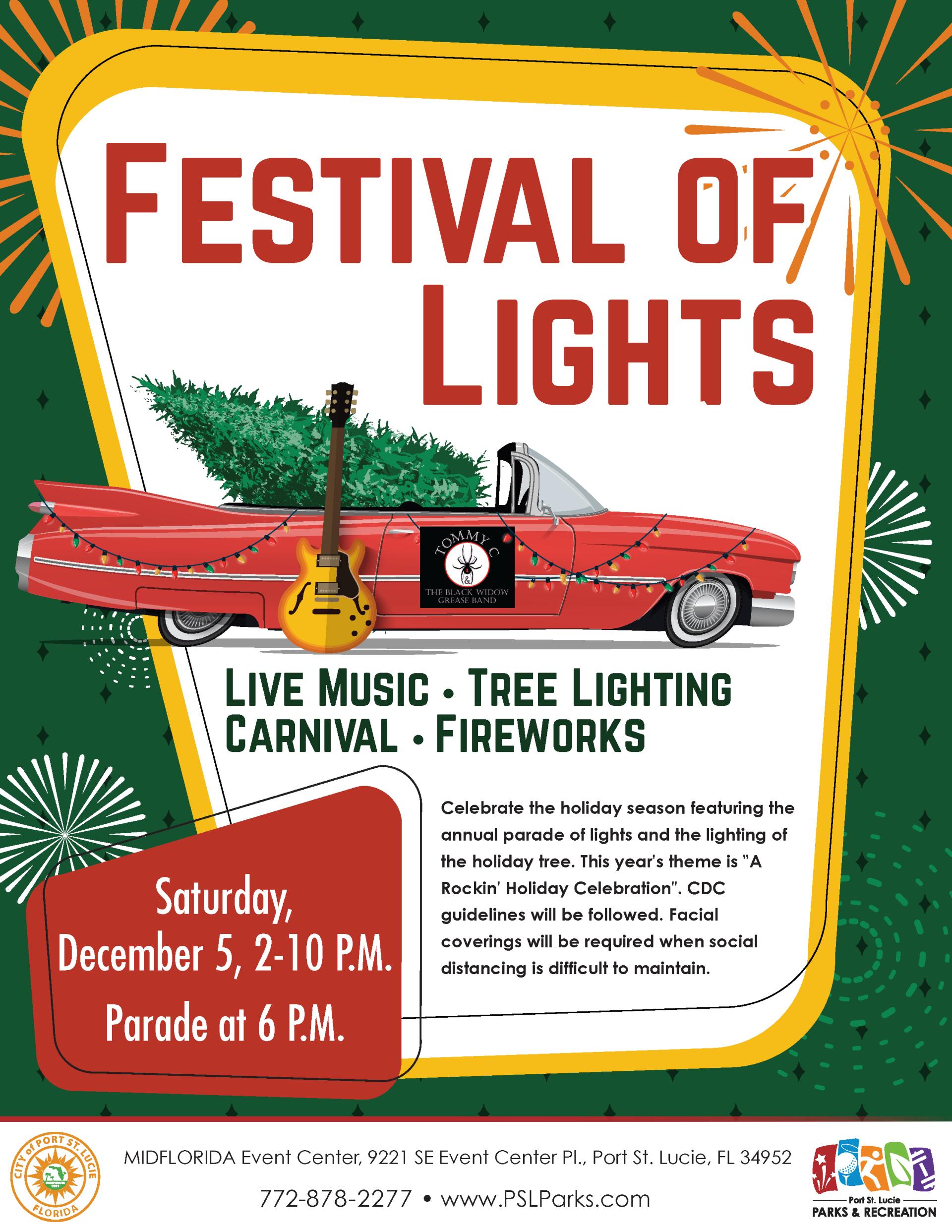 Festival of Lights Flyer 2020