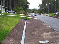 Swale Liner Driveway Culverts Port St Lucie
