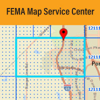 FEMA Map Service Center