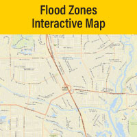 PSL GIS Interactive Flood Zones Map