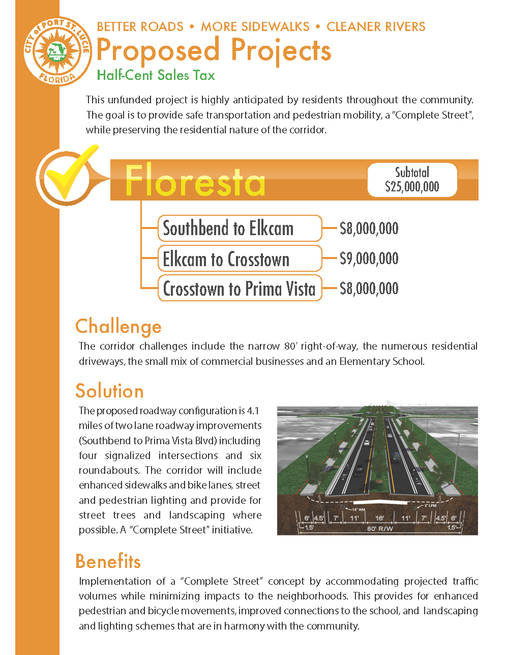 2018 Floresta Proposed Projects