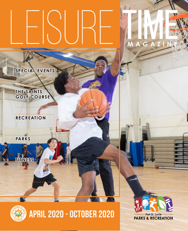 Leisure Time Magazine Cover