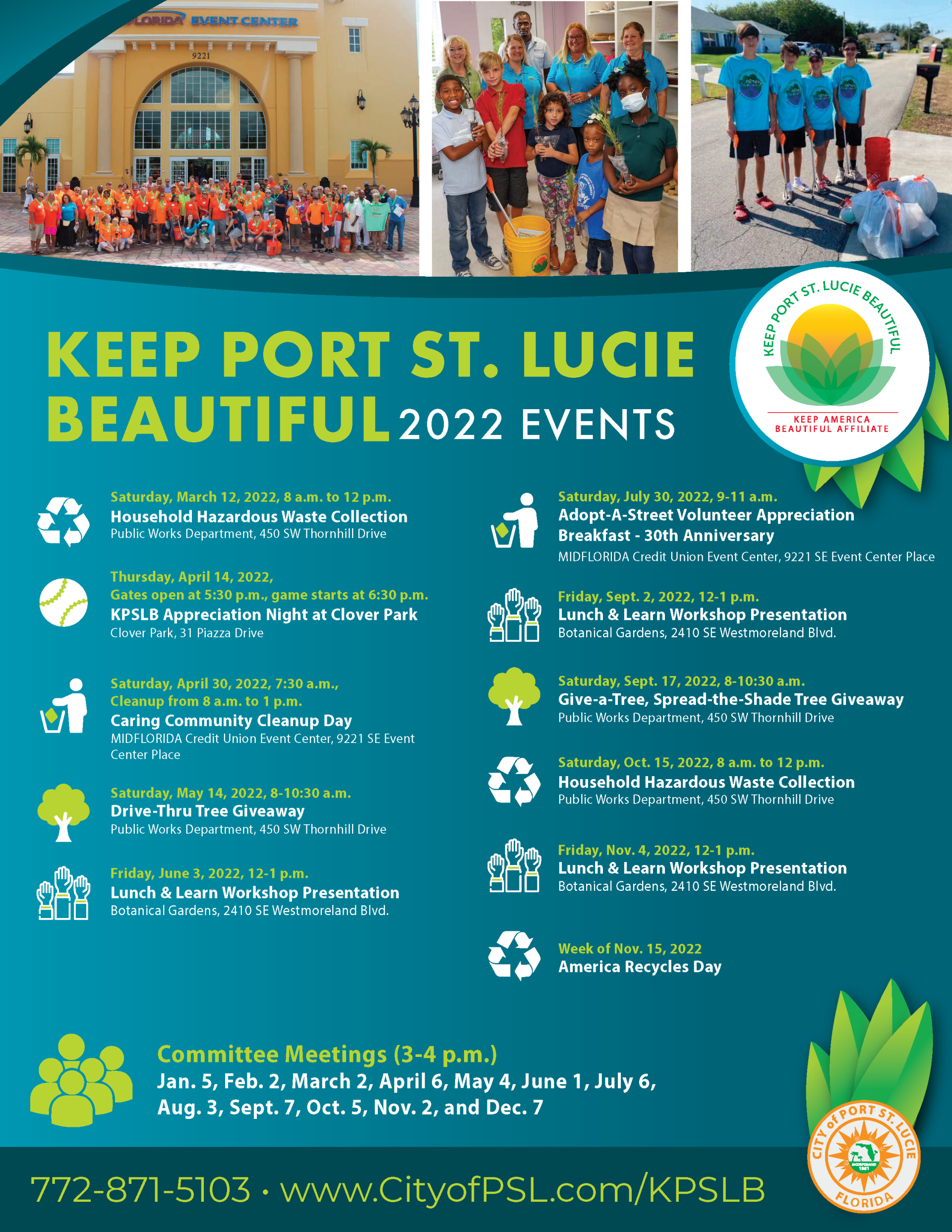 KPSLB Events Flyer