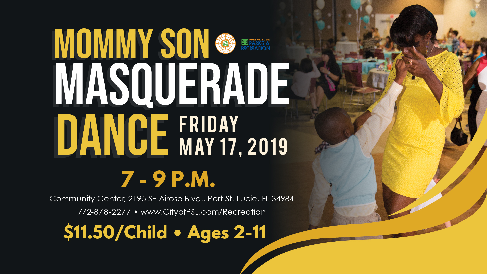 Mommy Son Masquerade Dance