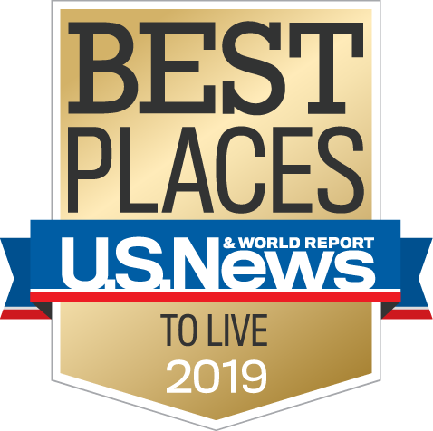 US News Best Places to Live 2019 Badge