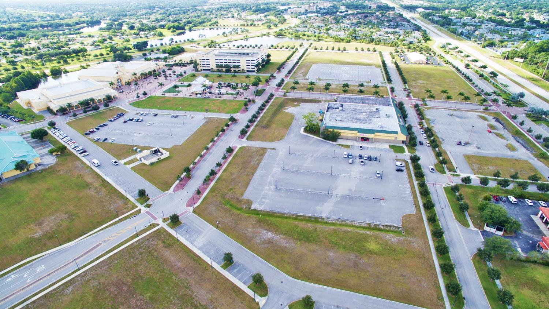 City Center Aerial