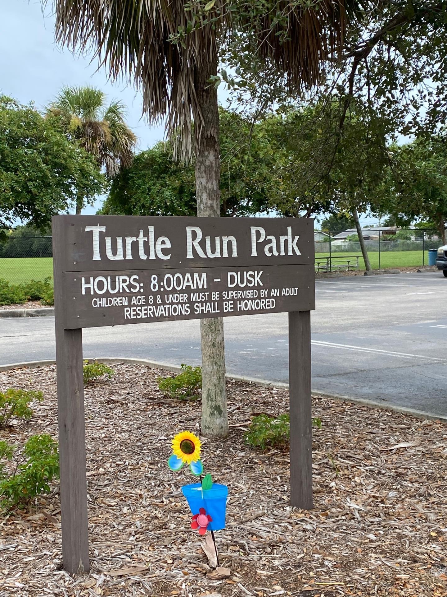 Sunflower Pinwheel at Turtle Run Park