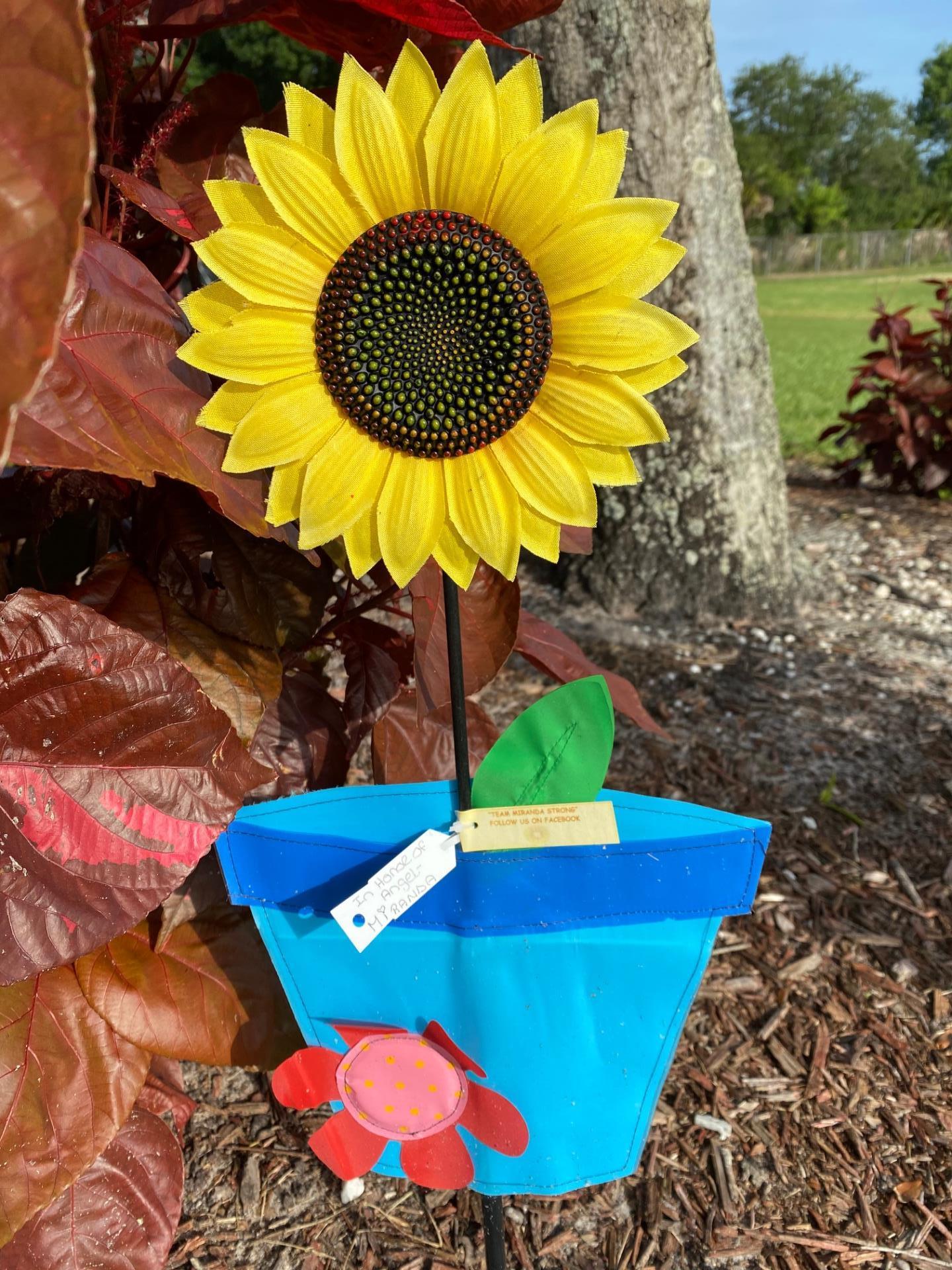 Sunflower Pinwheel