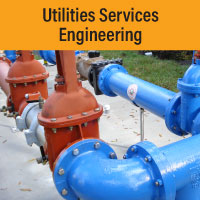 Utility Services Engineering Button