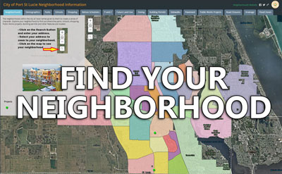 Find Your Neighborhood on the map