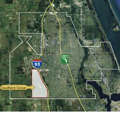 southern grove jobs corridor map